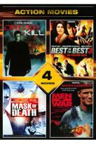 Action Movies: Driven to Kill/Best of the Best 3/Mask of Death/Men of War
