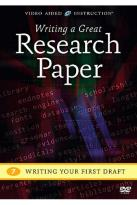 Writing A Great Research Paper: Writing your First Draft