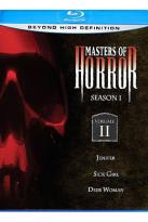 Masters of Horror Blu-ray - Season 1 Volume 2