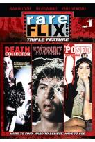 Rareflix Triple Feature Vol. 1: Disturbance/Posed for Murder/Death Collector