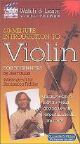 Watch & Learn: Jim Tolles - 60-Minute Introduction to Violin for Beginners