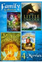 Family Collection: Fairy King of Ar/The Little Unicorn/Magic Door/The Last Leprechaun