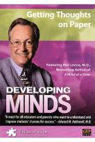 Developing Minds - Theme Set: Getting Thoughts on Paper