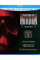 Masters of Horror Blu-ray - Season 1 Volume 1