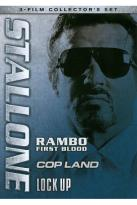 Stallone: Rambo - First Blood/Cop Land/Lock Up