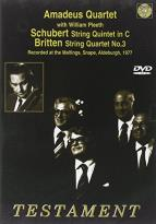 Amadeus Quartet - Schubert/Britten: String Quintet in C/String Quartet No. 3