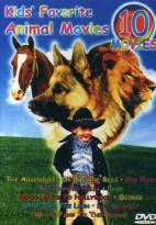 Kids' Favorite Animal Movies - Ten Movies On Five DVDS