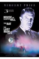 Vincent Price - House on Haunted Hill/Last Man on Earth/The Bat