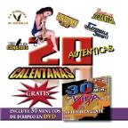 Various Artists-20 Autenticas Calentanas CD W/DVD Combo