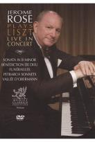 Jerome Rose Plays Liszt: Live in Concert