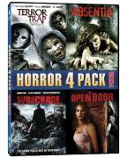 Horror 4 Pack, Vol. 4: Terror Trap/Absentia/Wreckage/The Open Door