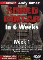 Lick Library: Andy James' Shred Guitar in 6 Weeks - Week 1