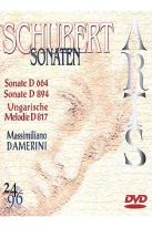Schubert Sonatas Played by Massimiliano Damerini - DVD Audio
