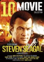 10 Movie Collection Featuring Steven Seagal