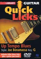 Lick Library: Guitar Quick Licks - Up Tempo Blues Joe Bonamassa Style