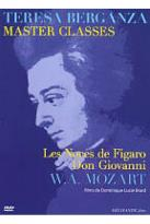 Teresa Berganza Master Classes: W.A. Mozart - Les Noces de Figaro/Don Giovanni