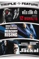 12 Monkeys/Mercury Rising/The Jackal