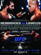 UFC 171: Hendricks vs. Lawler
