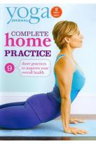 Yoga Journal - Complete Home Practice