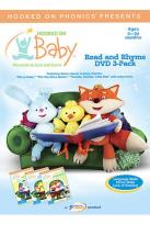 Hooked On Baby - Read And Rhyme - 3 Pack