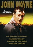 John Wayne - Rainbow Valley/His Private Secretary/Paradise Canyon/Shadow Of The Eagle