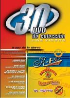 30 DVD Colleccion - K-Paz/Los Horoscopos De Durango/Brazeros Musical