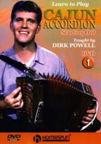 Learn to Play Cajun Accordian - Vol 1: Starting Out