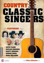 Country Classic Singers: Patsy Cline/Waylon Jennings/Marty Robbins/George Jones/Hank Williams