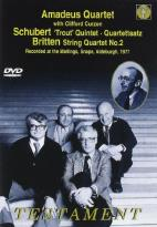 Amadeus Quartet - Schubert/Britten: Trout Quintet/String Quartet No. 2