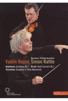 Berliner Philharmoniker/Vadim Repin/Simon Rattle: Beethoven/Bruch/Stravinsky