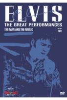 Elvis - The Great Performances Volume 2: The Man And His Music