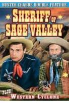 Buster Crabbe Double Feature: Sheriff Of Sage Valley/Western Cyclone