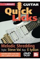 Guitar Quick Licks - Steve Vai