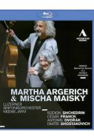 Martha Argerich &amp; Mischa Maisky: Shchedrin/Franck/Dvorak/Shostakovich