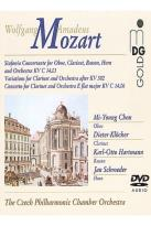 Mozart - Sinfonia Concertante K.279B, Variations After K.382, And Concerto For Clarinet K.14.06