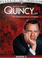 Quincy, M.E. - The Complete Third Season