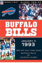 NFL Games Archives: Buffalo Bills vs. Houston Oilers 1993 Afc Playoffs