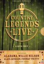 Country Legends Live - 3-Disc Set