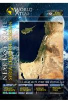 World Atlas: Near East - Israel, Syria, Lebanese, Jordan