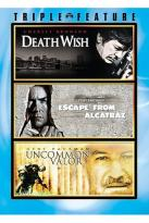 Death Wish/Escape From Alcatraz/Uncommon Valor