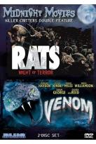 Midnight Movies: Killer Critter Double Feature - Rats/Venom