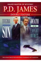 P.D. James: Original Sin/Death of an Expert Witness