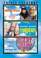Wayne's World/Coneheads/Stuart Saves His Family