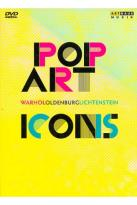 Pop Art Icons: Warhol/Oldenburg/Lichtenstein