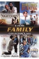 Family Collector's Set: Nightjohn/Home Fires Burning/For the Love of Aaron/A Son's Promise