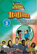 Standard Deviants - Italian Module 5: Gender and Nouns