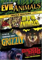 Evil Animals Triple Feature - Grizzly/Day of the Animals/Devil Dog