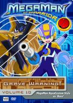 Megaman: NT Warrior - Vol. 10: Grave Warning!