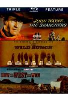 Searchers/The Wild Bunch/How the West Was Won
