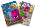Barney - Let's Go To The Zoo / Round And Round We Go